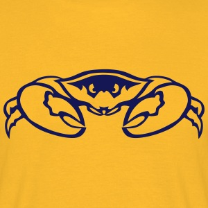 crabe pince tete animal 7092 Tee shirts - T-shirt Homme