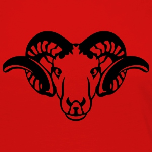 Aries Animal head horn  7092 Long Sleeve Shirts - Women's Premium Longsleeve Shirt