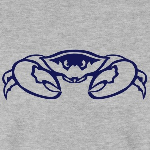 Crab clamp animal head 7092 Hoodies & Sweatshirts - Men's Sweatshirt