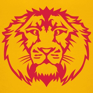 Lion king animal head 709 Shirts - Kids' Premium T-Shirt