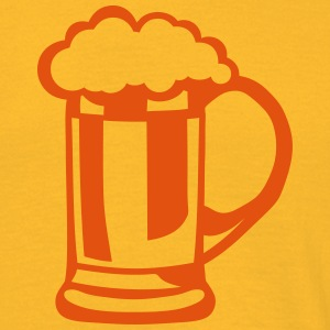 Beer drawing alcohol glass 209 T-Shirts - Men's T-Shirt