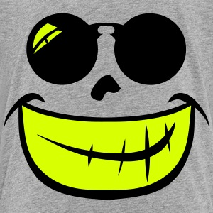 Smiley Sunglasses Round 209 Shirts - Teenage Premium T-Shirt