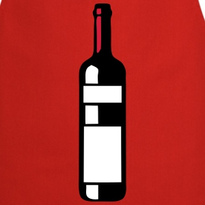 Bottle red wine alcohol 209  Aprons - Cooking Apron