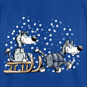 Huskies in the snow Shirts - Teenage T-shirt