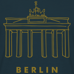 Brandenburger Tor  gold-metallic Berlin