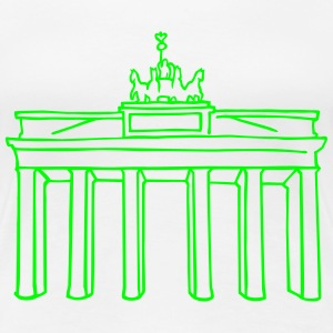 Brandenburg Gate in Berlin T-Shirts - Women's Premium T-Shirt