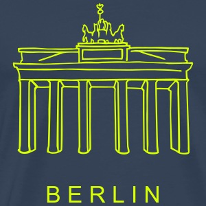 Brandenburg Gate in Berlin T-Shirts - Men's Premium T-Shirt