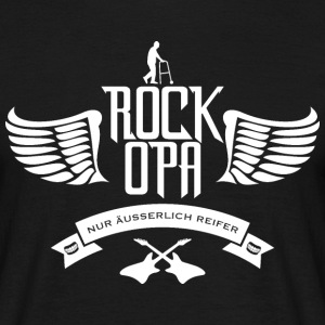 T-Shirt Rock Opa - Männer T-Shirt