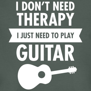 I Don't Need Therapy - I Just Need To Play Guitar T-Shirts - Männer Bio-T-Shirt