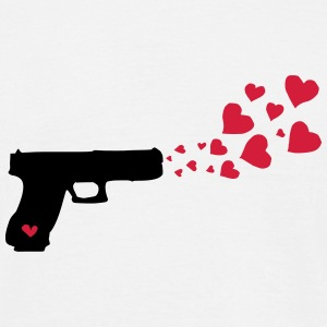 Love Pistol T-shirts - Mannen T-shirt