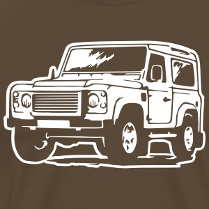 Defender (Differenzbild) T-Shirts - Men's Premium T-Shirt