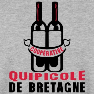bretagne cooperative quipicole bouteille Sweat-shirts - Sweat-shirt Homme