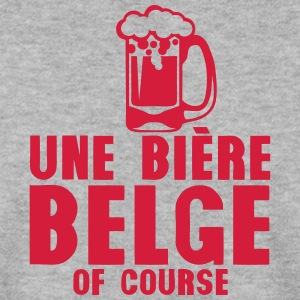 biere belge of course verre alcool Sweat-shirts - Sweat-shirt Homme