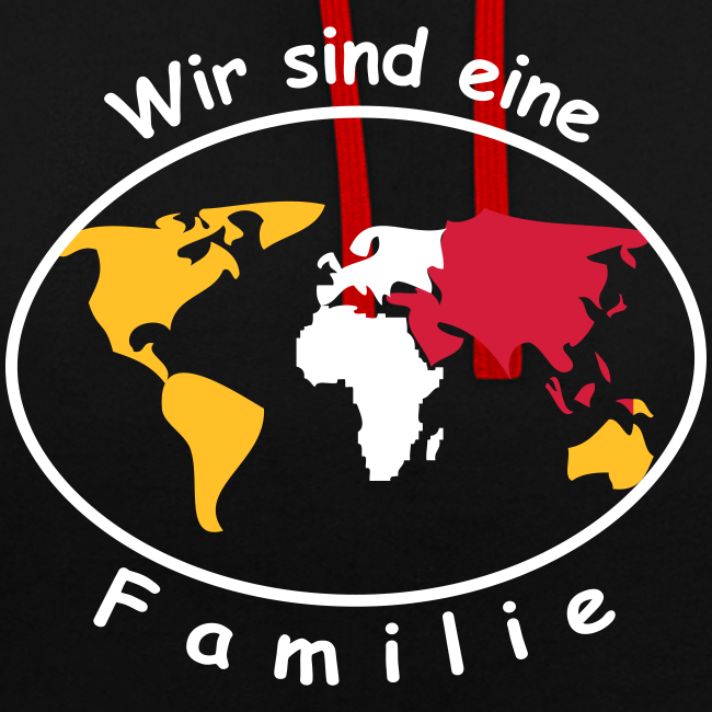 TIAN GREEN Pullover Unisex  - Wir sind eine Familie!