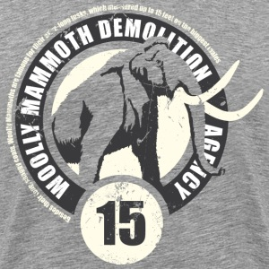 Animal Planet mammut herre T-shirt - Herre premium T-shirt