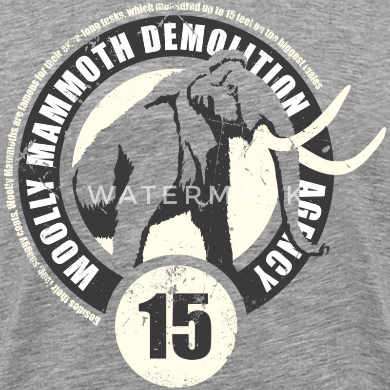 Animal Planet mammut tröja dam - Premium-T-shirt herr