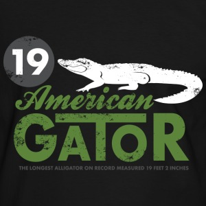 Animal Planet alligator T-shirt herr - Kontrast-T-shirt herr