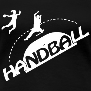 Handball Torwart 2 T-Shirts - Frauen Premium T-Shirt