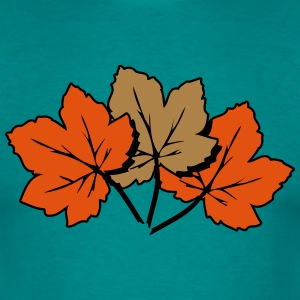 Autumn leaves melancholy art T-Shirts - Men's T-Shirt