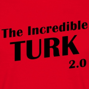 T-Shirt front The Incredible Turk 2.0 - Mannen T-shirt