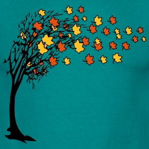 Autumn tree leaves T-Shirts - Men's T-Shirt
