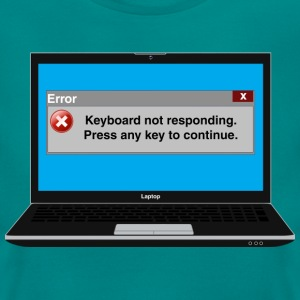 Error msg - Keyboard T-Shirts - Women's T-Shirt