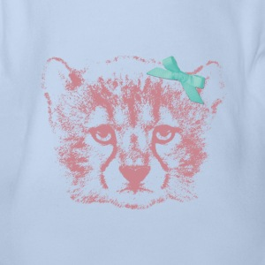 Animal Planet Wolfs-Welpe Baby Body - Baby Bio-Kurzarm-Body