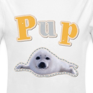 Animal Planet Pup Seal Baby One-Piece - Longlseeve Baby Bodysuit