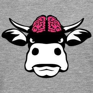 Cow brain head 3108 Long sleeve shirts - Men's Premium Longsleeve Shirt