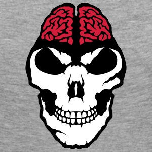 Brain skull halloween 3108 Long Sleeve Shirts - Women's Premium Longsleeve Shirt
