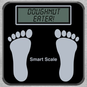 Smart Scales - Doughnut T-Shirts - Women's T-Shirt