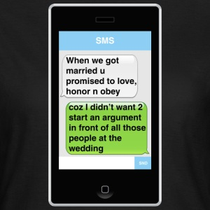 SMS - Wedding T-Shirts - Women's T-Shirt
