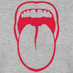 Tongue drawn mouth tooth 3108 Hoodies & Sweatshirts - Men's Sweatshirt