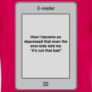 Book title - Depressed T-Shirts - Women's T-Shirt