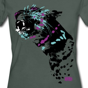 Animal Planet dame T-shirt leopard - Organic damer