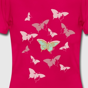 Animal Planet dame T-shirt sommerfugl - Dame-T-shirt