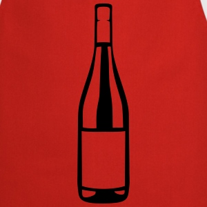 Bottle wine alcohol icon 2808  Aprons - Cooking Apron