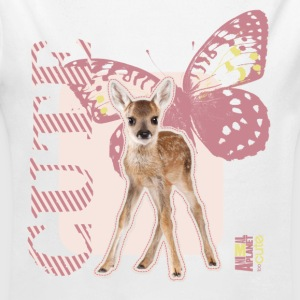 Animal Planet Cute Deer with Butterfly Baby One-Pi - Longlseeve Baby Bodysuit