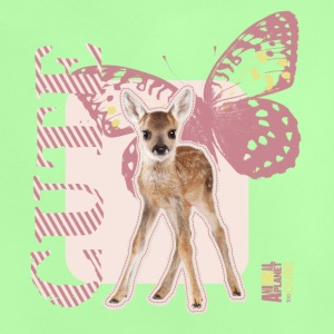 Animal Planet Cute Deer with Butterfly Baby T-Shir - Baby T-Shirt