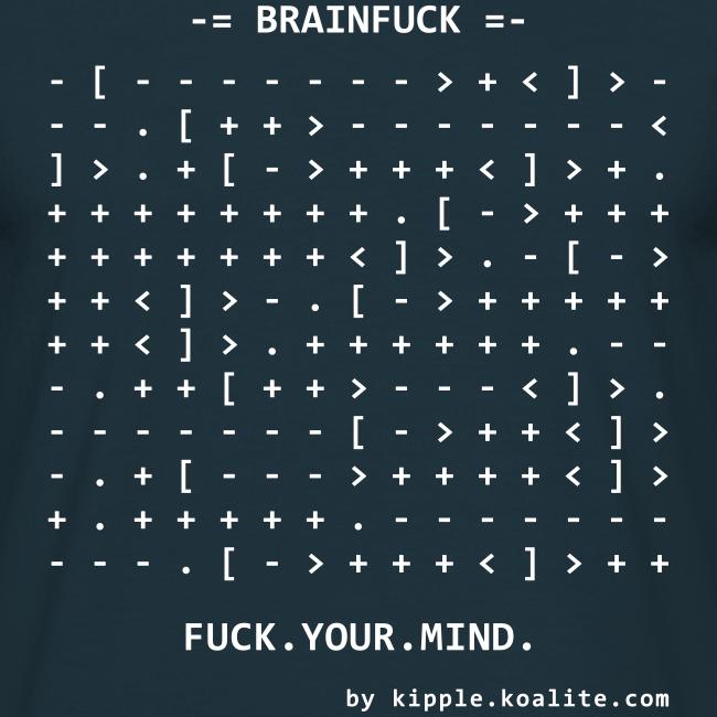 Brainfuck (White)