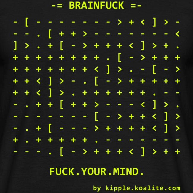 Brainfuck (Yellow)