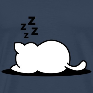 Sleeping cat T-Shirts - Men's Premium T-Shirt