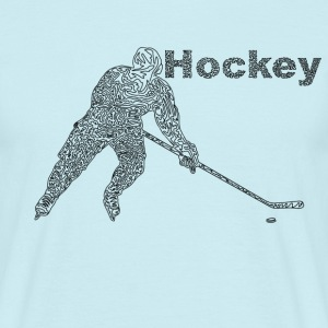 Hockey T-shirts - Herre-T-shirt