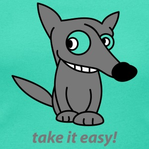 take it easy  T-Shirts - Frauen T-Shirt mit U-Ausschnitt
