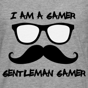 gentleman gamer Manches longues - T-shirt manches longues Premium Homme