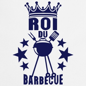 roi barbecue couronne bbq barbec barbeuk Tabliers - Tablier de cuisine