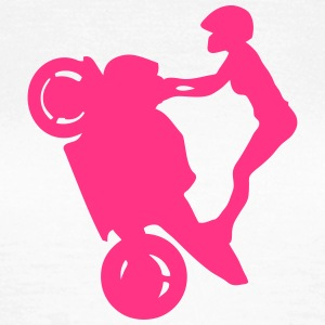 Smash stunts woman motorbike 32 T-Shirts - Women's T-Shirt