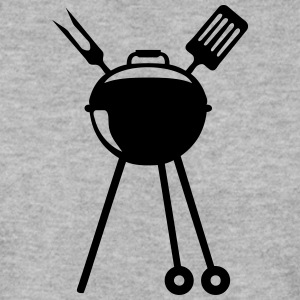 barbecue bbq logo pique barbeuk 2608 Sweat-shirts - Sweat-shirt Homme