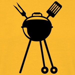 Barbecue bbq logo Pic barbeuk 2608 T-Shirts - Men's T-Shirt