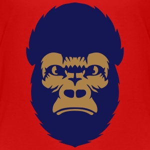 Gorilla animal ape  2608 Shirts - Kids' Premium T-Shirt